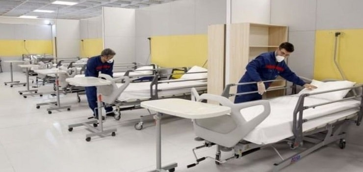beds for corona patients